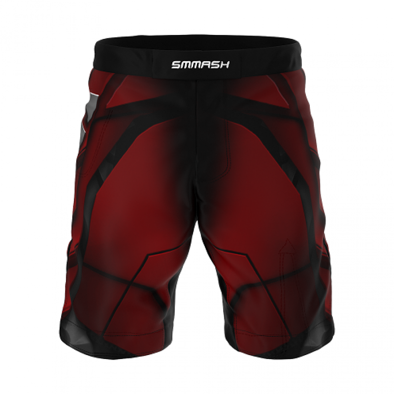 Шорты SMMASH MMA SHORTS RED ARMOUR ММА (01421) фото 5