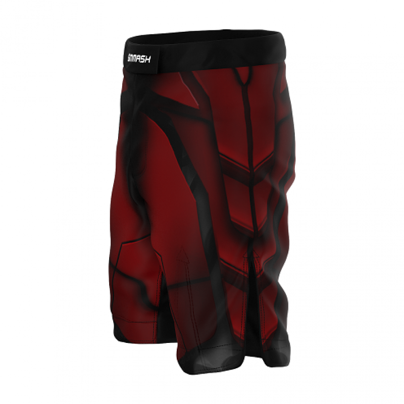 Шорты SMMASH MMA SHORTS RED ARMOUR ММА (01421) фото 4
