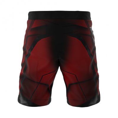 Шорты SMMASH MMA SHORTS RED ARMOUR ММА (01421) фото 2