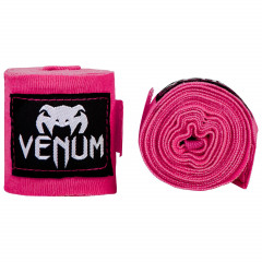 Бинты Venum Kontact Boxing Handwraps Neo Pink