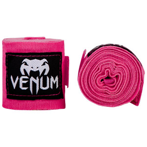 Бинти Venum Kontact Boxing Handwraps Neo Pink