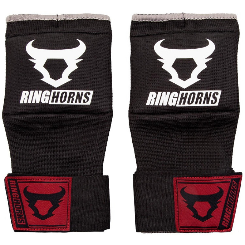 Быстрые бинты Ringhorns Charger Handwraps Black (01680) фото 1