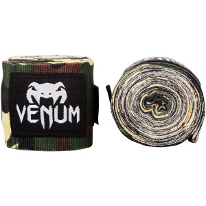 Бинти Venum Kontact Boxing Handwraps Forest Camo