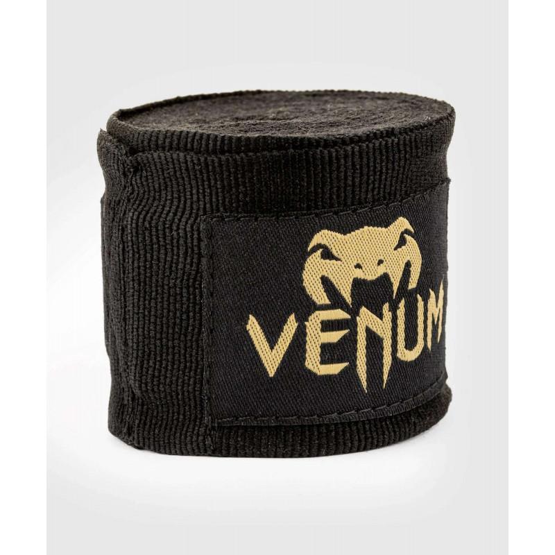 Бинти Venum Kontact Boxing Handwraps Black/Gold (02083) фото 3