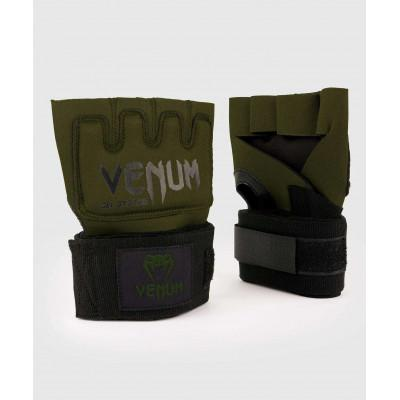 Бинты Venum Kontact Gel Glove Wraps Khaki/Black (02058) фото 1