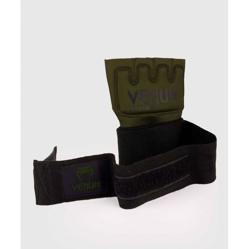 Бинты Venum Kontact Gel Glove Wraps Khaki/Black (02058) фото 2