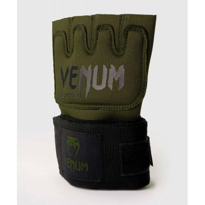 Бинты Venum Kontact Gel Glove Wraps Khaki/Black (02058) фото 3
