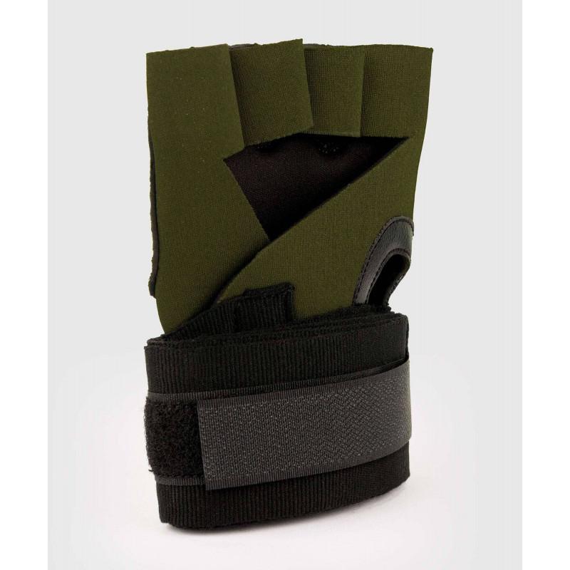 Бинты Venum Kontact Gel Glove Wraps Khaki/Black (02058) фото 4