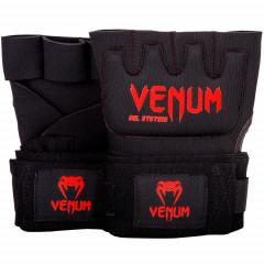 Бинты гелевые Venum Kontact Gel Glove Black/Red