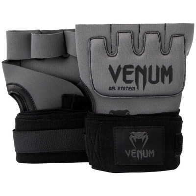Бинты гелевые Venum Kontact Gel Glove Grey (01507) фото 1