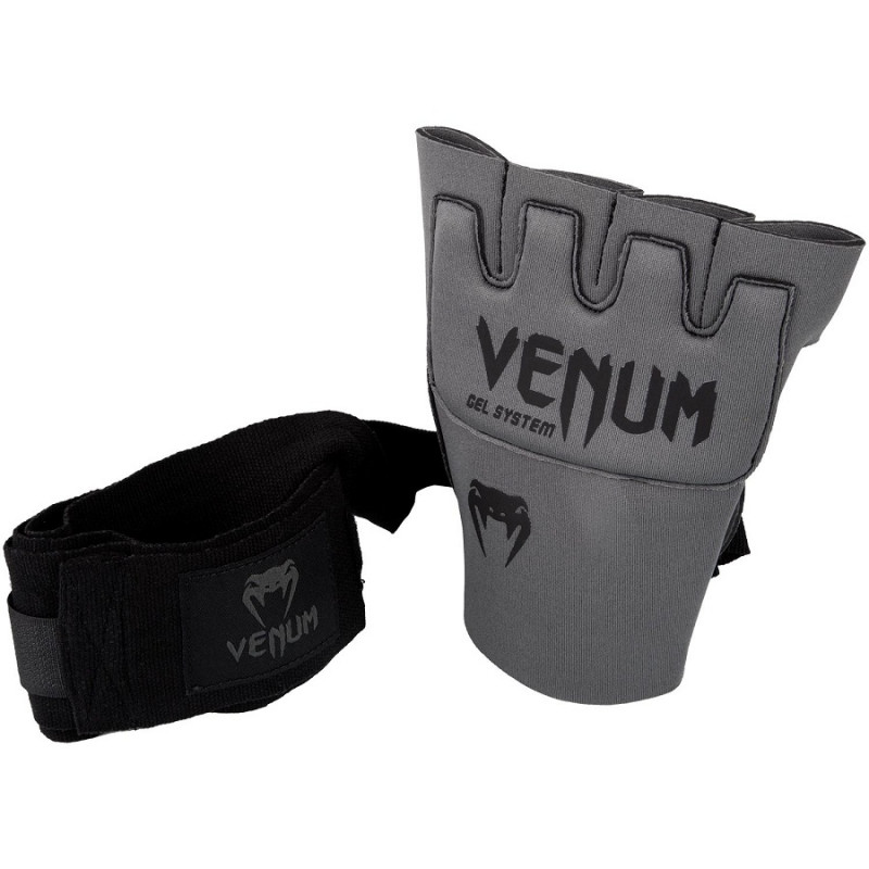 Бинты гелевые Venum Kontact Gel Glove Grey (01507) фото 3