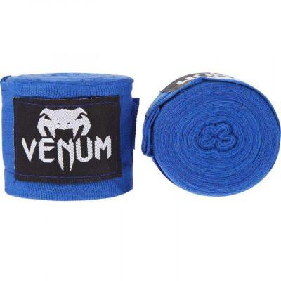 Бинты Venum Kontact Boxing Handwraps Blue (02097) фото 1