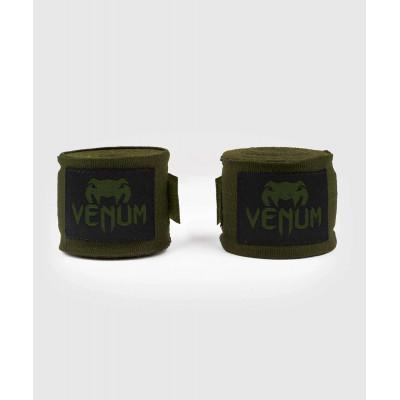 Бинти Venum Kontact Boxing Handwraps Khaki/Black (02084) фото 1