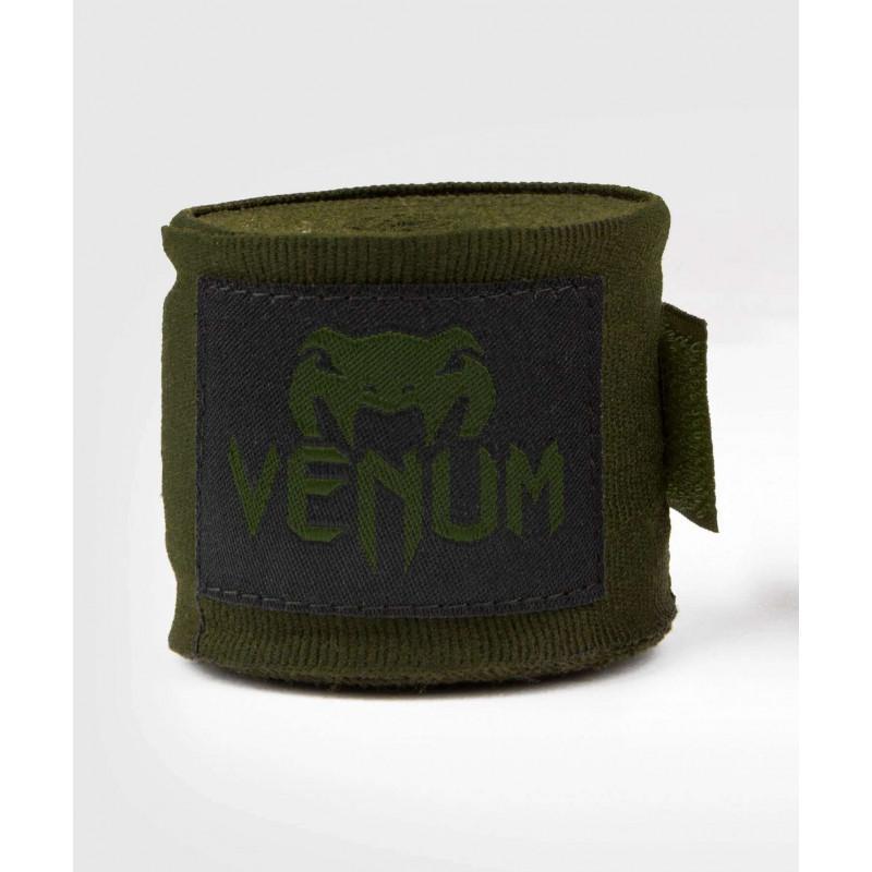 Бинти Venum Kontact Boxing Handwraps Khaki/Black (02084) фото 3