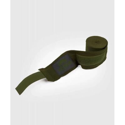 Бинти Venum Kontact Boxing Handwraps Khaki/Black (02084) фото 2