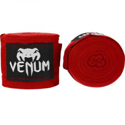 Бінти Venum Kontact Boxing Handwraps Red (02098) фото 1