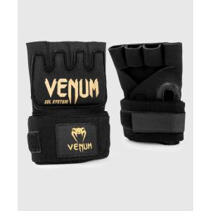 Бинты Venum Kontact Gel Glove Wraps Black/Gold