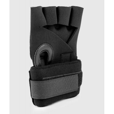Бинты Venum Kontact Gel Glove Wraps Black/Gold (02059) фото 4