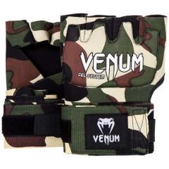 Быстрые гелевые бинты Venum Kontact Gel Glove Wraps Forest Сamo