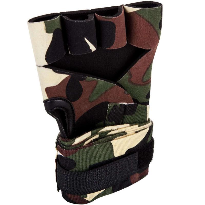 Швидкі гелеві бинти Venum Kontact Gel Glove Wraps Forest Сamo (01850) фото 2