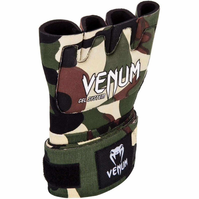 Швидкі гелеві бинти Venum Kontact Gel Glove Wraps Forest Сamo (01850) фото 3