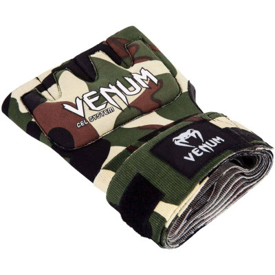 Швидкі гелеві бинти Venum Kontact Gel Glove Wraps Forest Сamo (01850) фото 5