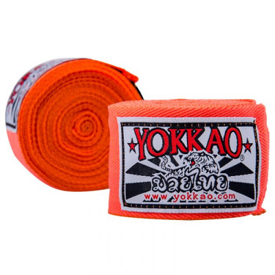 Бинты YOKKAO Muay Thai neon orange (01661) фото 2