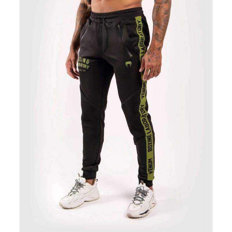 Штаны Venum Boxing Lab Joggers Black/Green (02050) фото 1