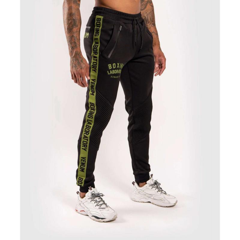 Штаны Venum Boxing Lab Joggers Black/Green (02050) фото 2