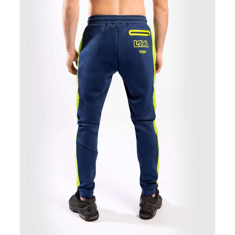 Спортивные штаны Venum Origins Joggers Blue/Yellow (02022) фото 2