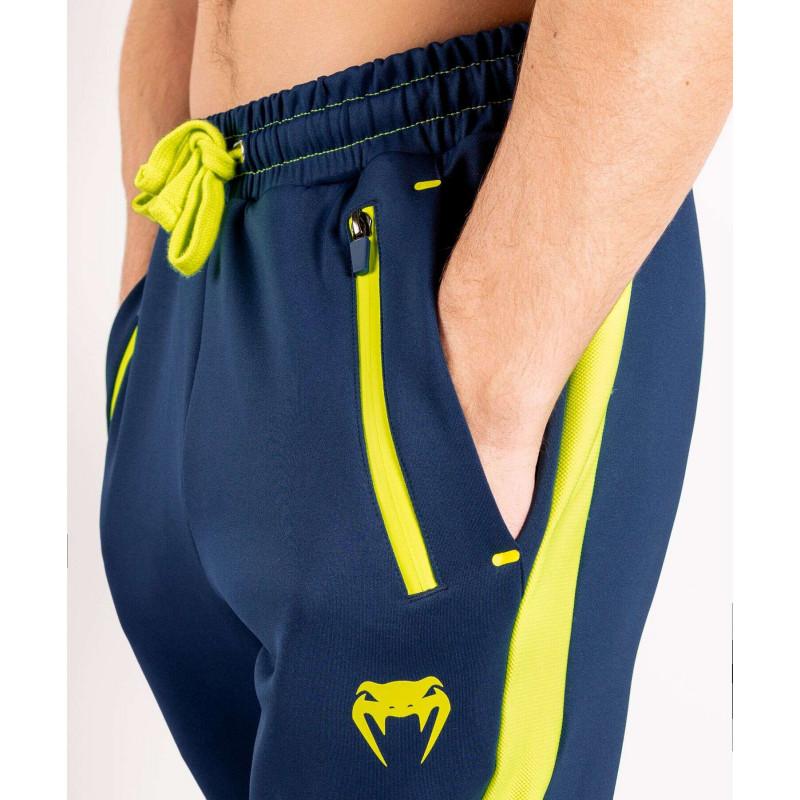 Спортивные штаны Venum Origins Joggers Blue/Yellow (02022) фото 5