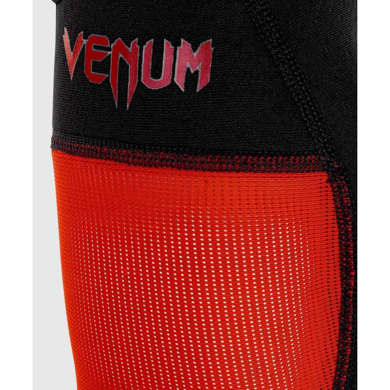Шингарды Venum Kontact Evo Shin Guards Black/Red (01996) фото 4
