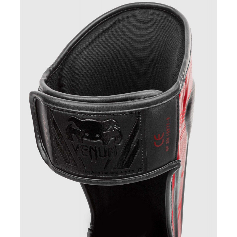 Защита ног Venum Elite Shin Guards Red Camo (01998) фото 4