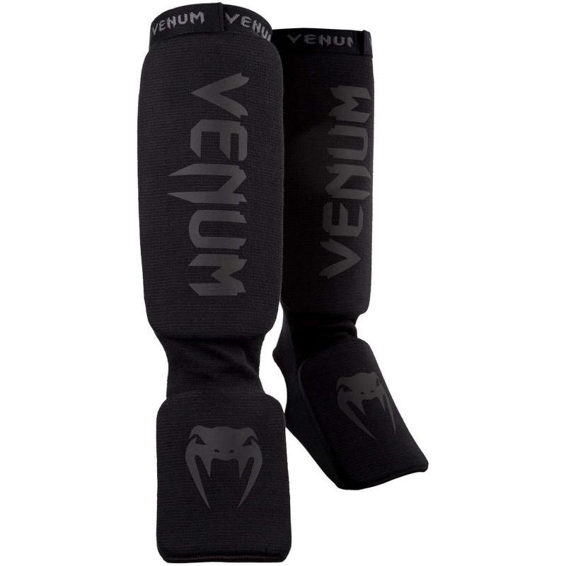 Захист голеностопа Venum Kontact Shin guards Чорні (01863) фото 1