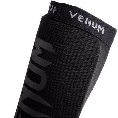 Защита голеностопа Venum Kontact Shin guards Черные (01863) фото 6