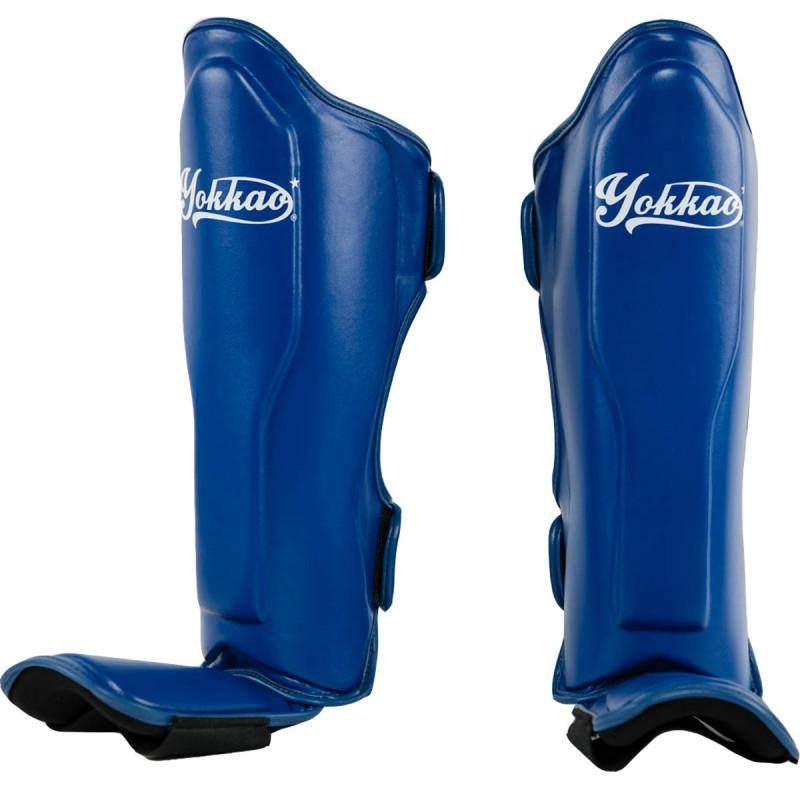 Защита голени стопы YOKKAO VertigoShin Guards Blue (01525) фото 1