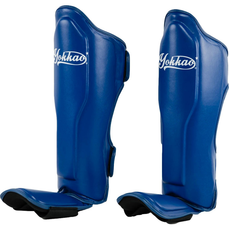 Защита голени стопы YOKKAO VertigoShin Guards Blue (01525) фото 2