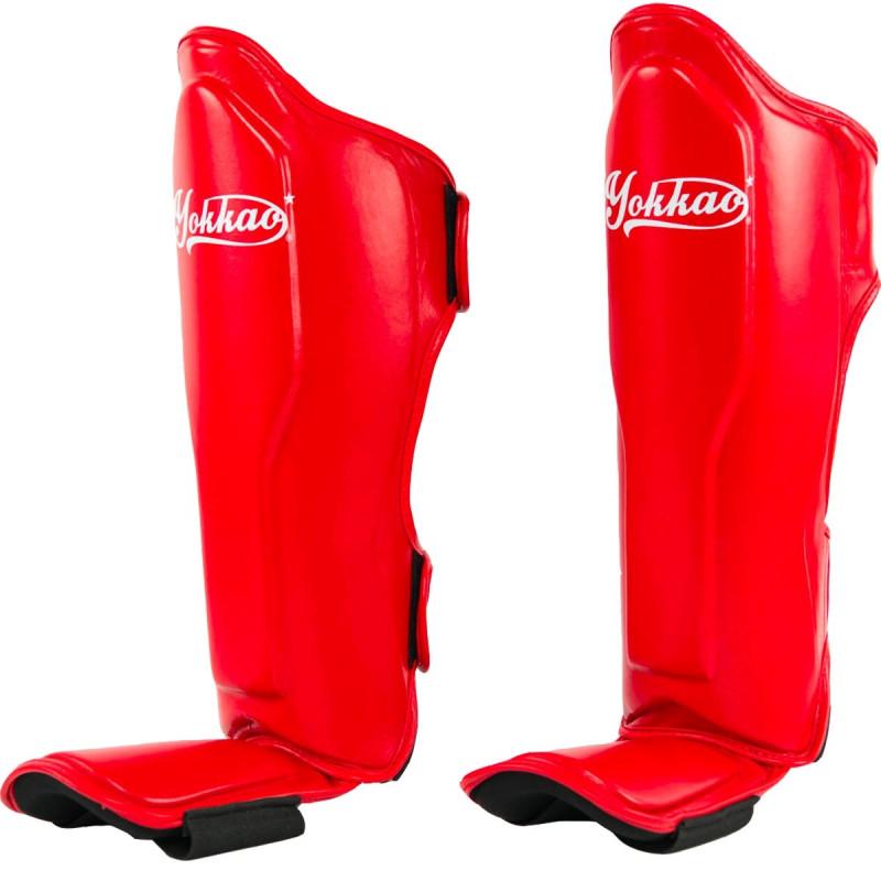 Защита голени стопы YOKKAO Vertigo Red (01523) фото 2