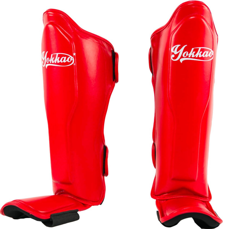 Защита голени стопы YOKKAO Vertigo Red (01523) фото 1
