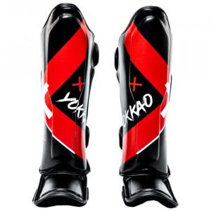 Защита YOKKAO голеностопа Vertigo X-shin black