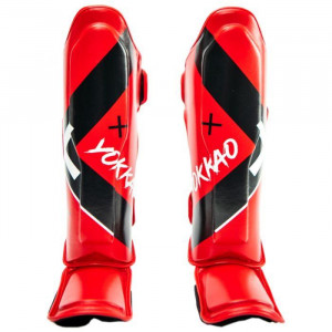 Защита YOKKAO голеностопа Vertigo X-shin red