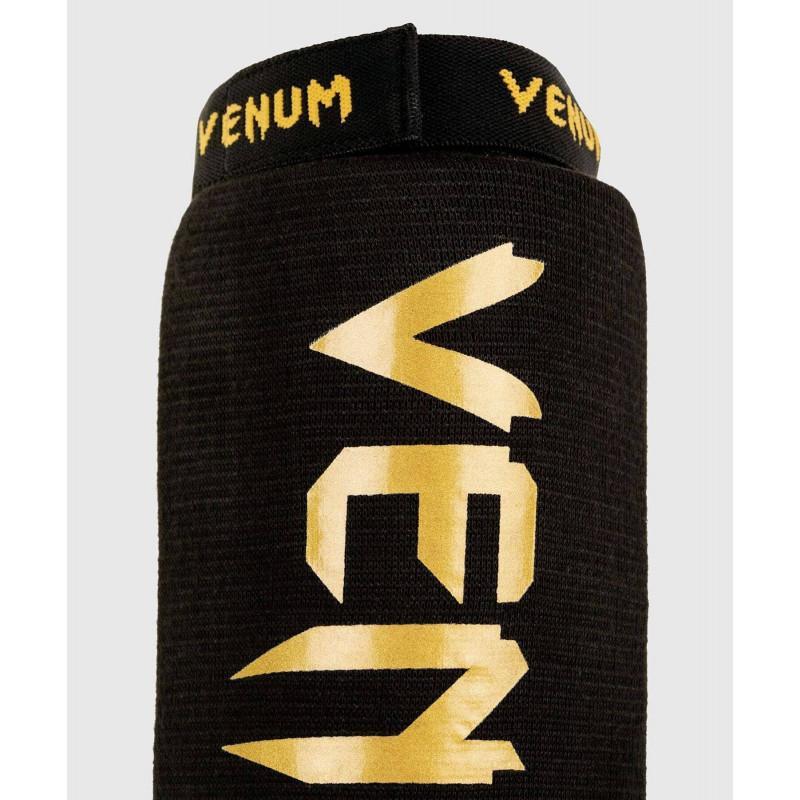 Захист ніг Venum Kontact Shin Guards Black/Gold (02074) фото 5