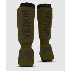 Защита ног Venum Kontact Shin Guards Khaki/Black