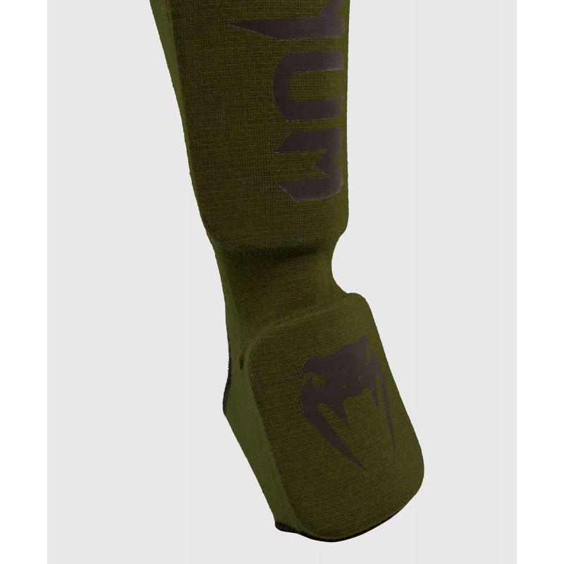 Защита ног Venum Kontact Shin Guards Khaki/Black (02075) фото 3