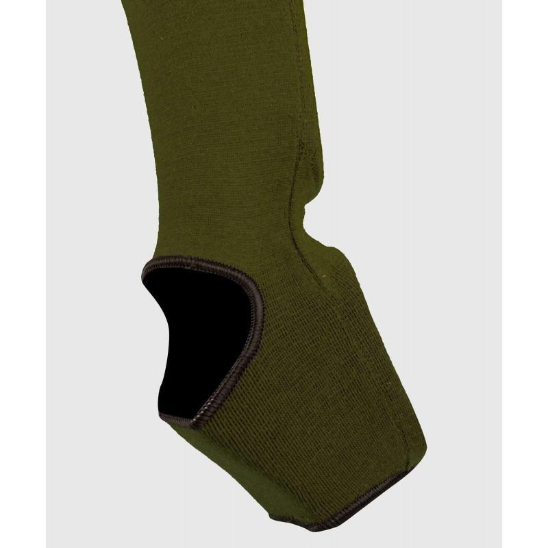 Защита ног Venum Kontact Shin Guards Khaki/Black (02075) фото 6