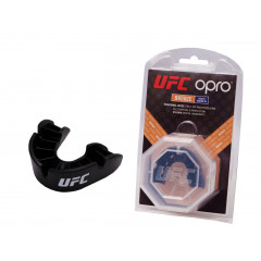 Капа OPRO Junior Bronze UFC Hologram Black
