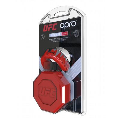 Капа OPRO Platinum UFC Hologram Red Metal/Black (01614) фото 6
