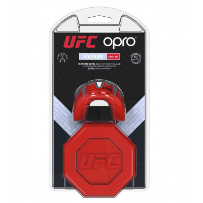 Капа OPRO Platinum UFC Hologram Red Metal/Black (01614) фото 7
