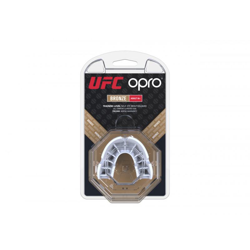 Капа OPRO Bronze UFC Hologram White (01605) фото 3