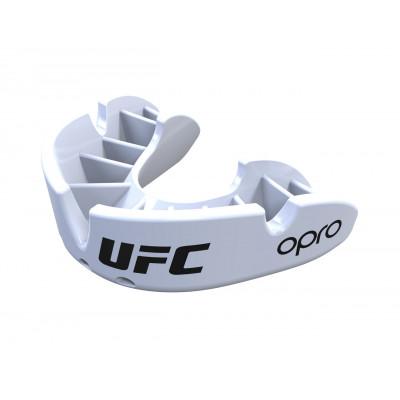 Капа OPRO Junior Bronze UFC Hologram White (01624) фото 4